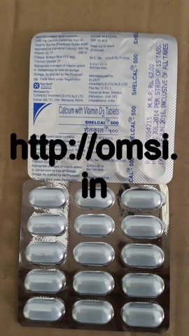 Shelcal 500 MG Tab 15 Tablets in Pack – Online Medical ...