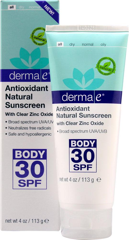 Derma E Antioxidant Natural Sunscreen Spf  Review