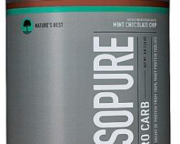 Nature's Best Isopure Zero Carb, Mint Chocolate Chip 3 lb
