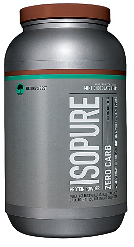 Nature's Best Isopure Zero Carb, Mint Chocolate Chip 3 lb