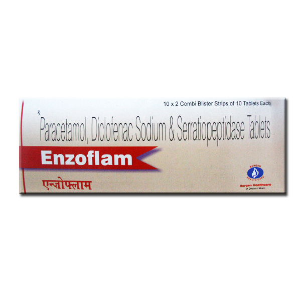 Enzoflam Tablets Uses Side-effects buy price discount Reviews composition |  Online Marketpalce Store India