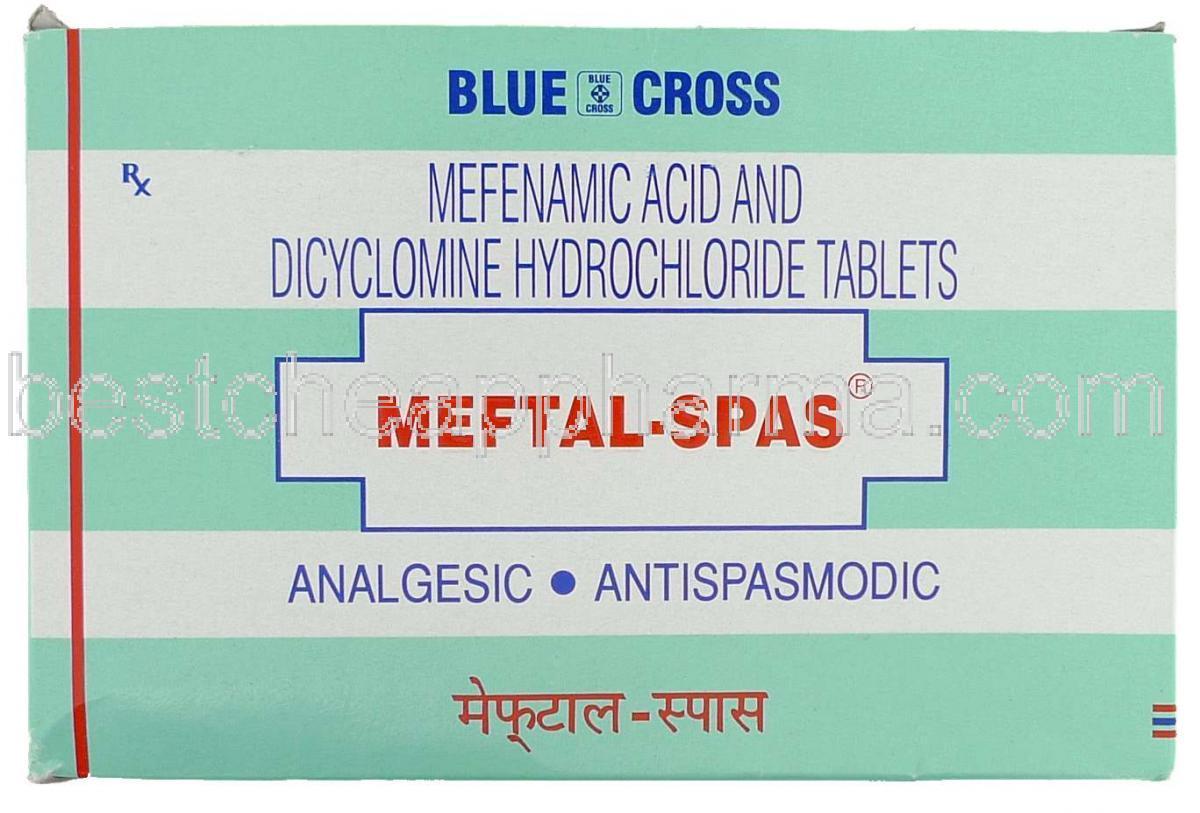 Meftal-Spas Tablet – Online Medical Store Delhi India