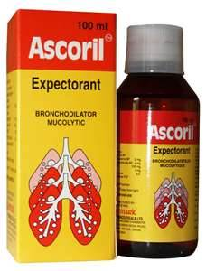 Ascoril Expectorant 100 Ml In Bottle Online Marketpalce