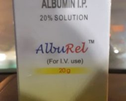 Alburel 20% 100ml Human Albumin injection reliance