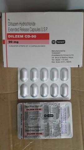 Dilzem Cd 90 Mg 10 Tablets In Strip Online Medical Store