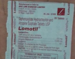 Lomotil (20 Tablets in Strip) RPG Life Sciences