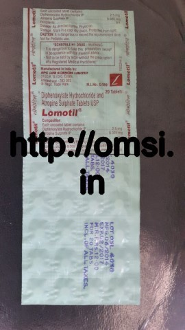 Lomotil 20 Tablets in Strip RPG Life Sciences – Online