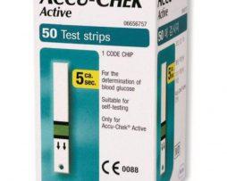 accu chek active strips