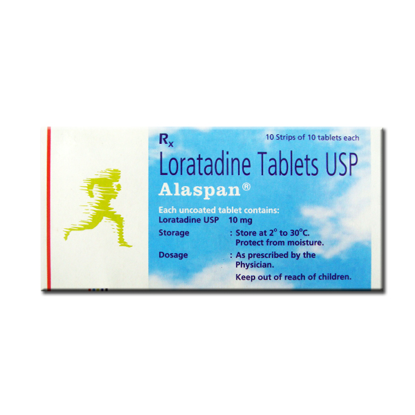Alaspan 10mg 10 Tablets In Strip Online Medical Store