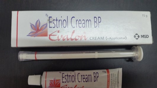 Estriol cream bp evalon 15g with Applicator