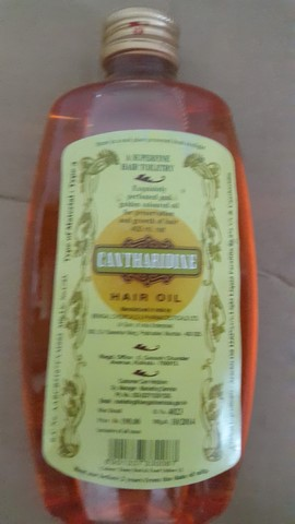 CANTHARIDINE HAIR OIL 100ML BENGAL CHEMICALS