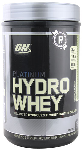 Optimum Nutrition Platinum Hydro Whey® Chocolate Mint 1.75 lbs