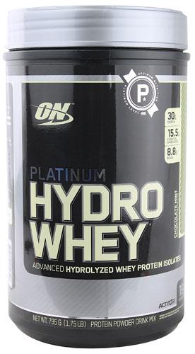 Optimum Nutrition Platinum Hydro Whey® Chocolate Mint 1.75 lbs