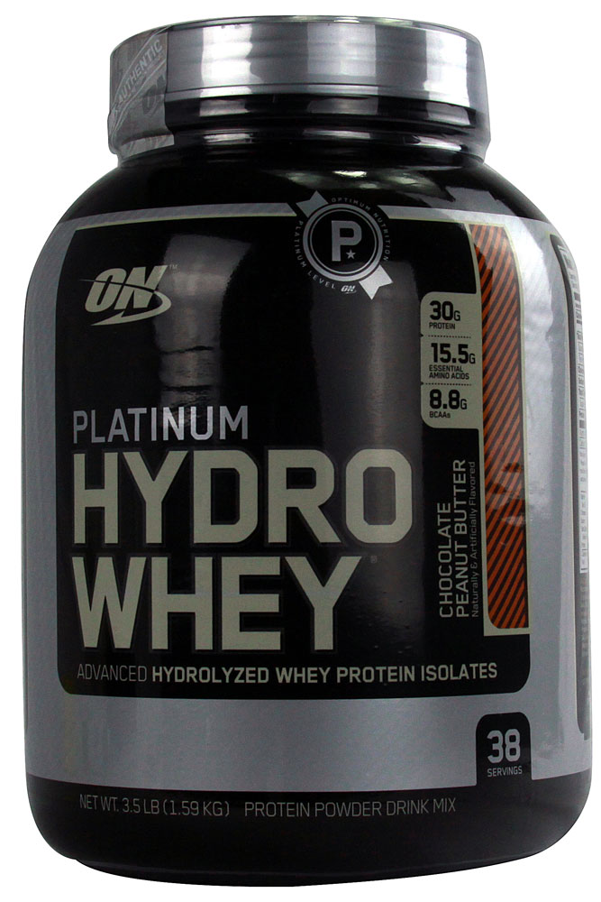 Optimum Nutrition Platinum Hydrowhey® Chocolate Peanut Butter 3.5 lbs