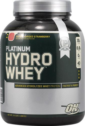 Optimum Nutrition Platinum Hydrowhey® Supercharged Strawberry 3.5 lbs