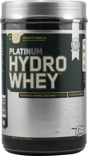 Optimum Nutrition Platinum Hydrowhey® Velocity Vanilla 1.75 lbs