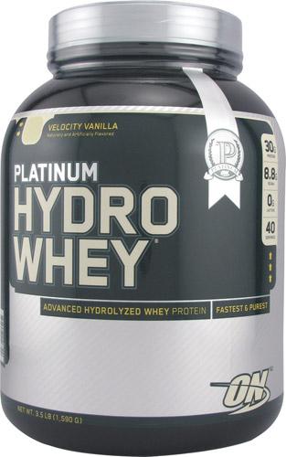 Optimum Nutrition Platinum Hydrowhey® Velocity Vanilla 3.5 lbs