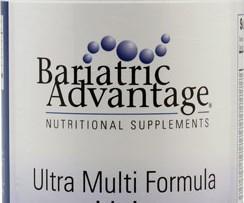 Bariatric Advantage Ultra Multi Formula with Iron