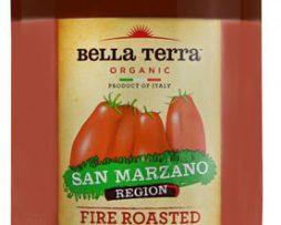 Bella Terra Organic Diced Tomatoes Fire Roasted