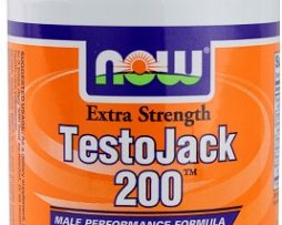 NOW Foods TestoJack 200™ Extra Strength 120 Vegetarian Capsules
