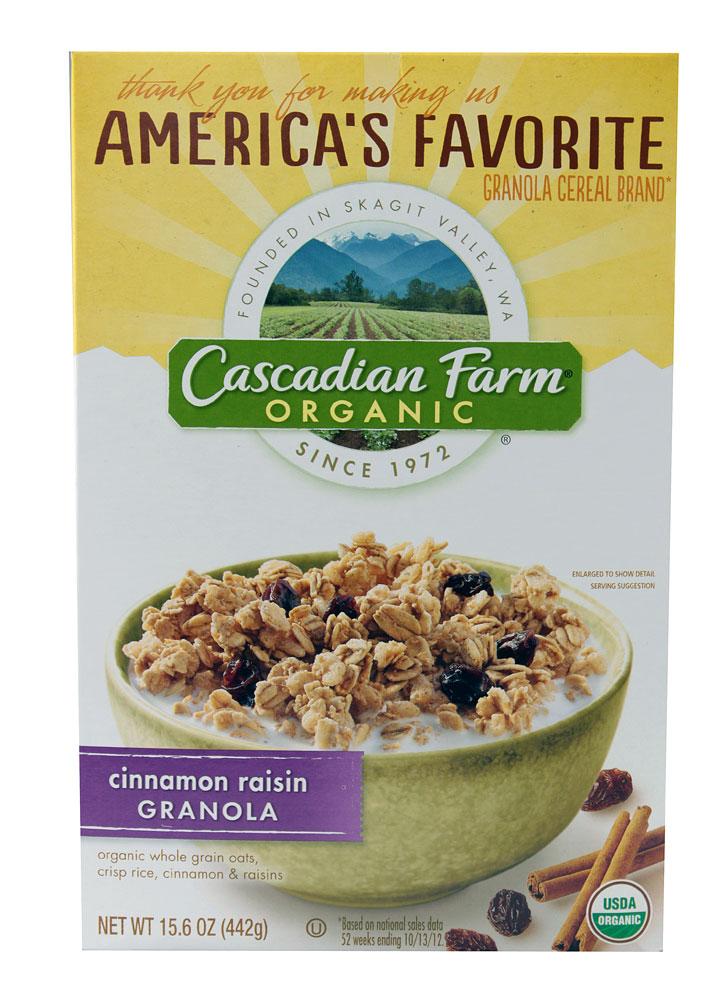 Cascadia farms cereal