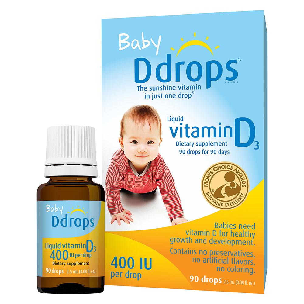 Vitamin D Baby Vergessen