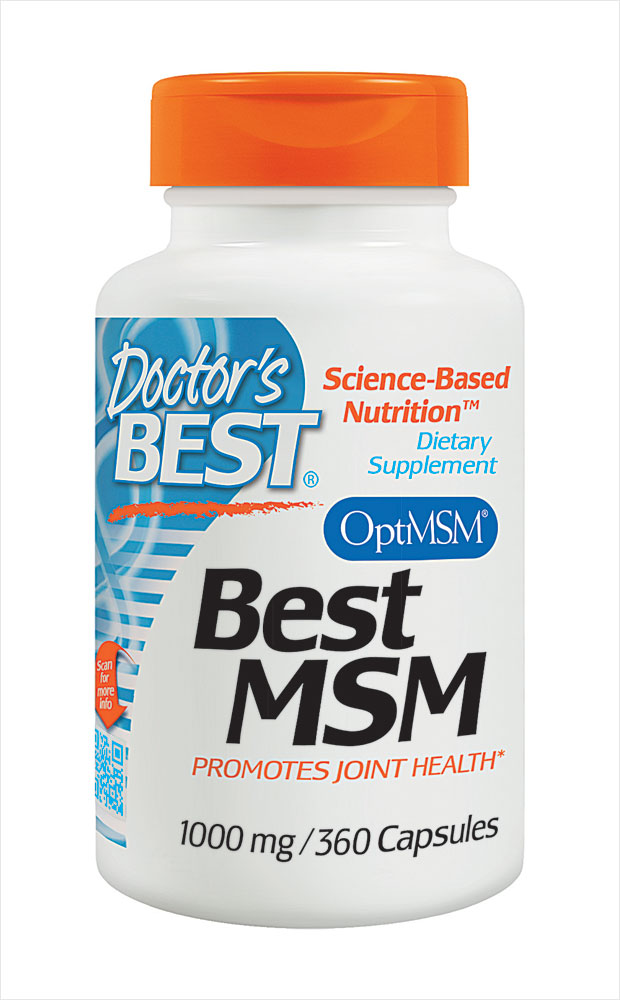 Best Msm 1000 Mg: Doctor's Best MSM 1000 Mg