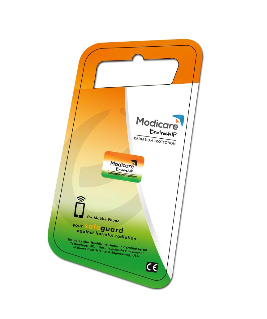 MODICARE ENVIROCHIP RADIATION PROTECTION TRI BAND