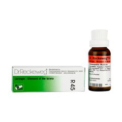 Dr  Reckeweg R45 Laryngin 22ml